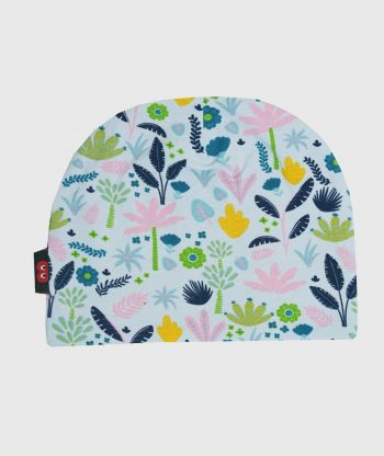 Baggy Hat Flowers And Leaves