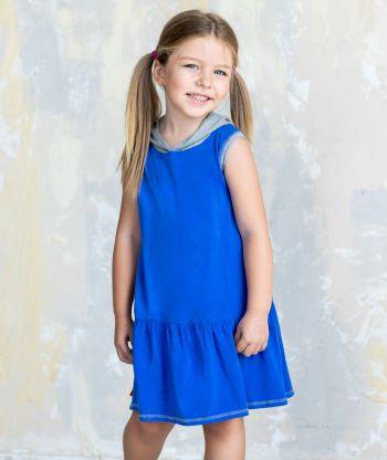 Everyday Swirling Blue/Grey Dress