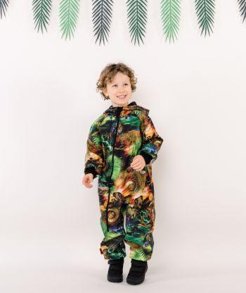 Waterproof Softshell Overall Comfy Safari Jumpsuit