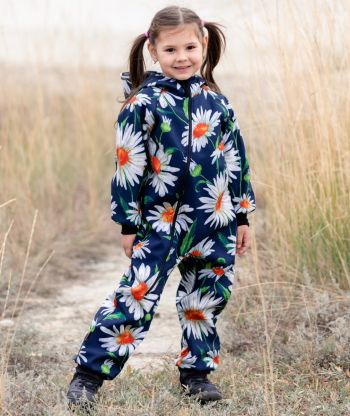 Waterproof Softshell Overall Comfy Daisy Jumpsuit