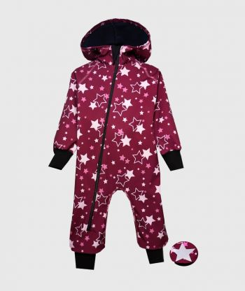 Waterproof Softshell Overall Comfy Multistars  Jumpsuit