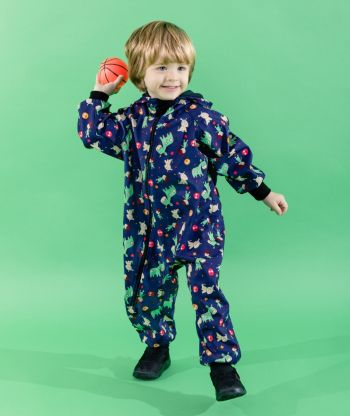 Waterproof Softshell Overall Comfy Wooden Toys Jumpsuit